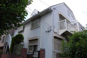 横浜市K様・賃貸併用住宅の外壁塗装工事前の写真