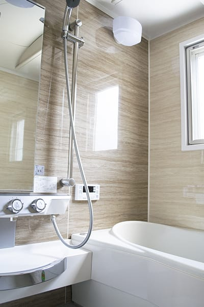 浴室の写真