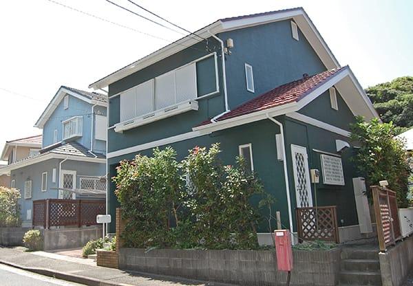 三浦市H様邸・住宅の外壁塗装工事後の写真