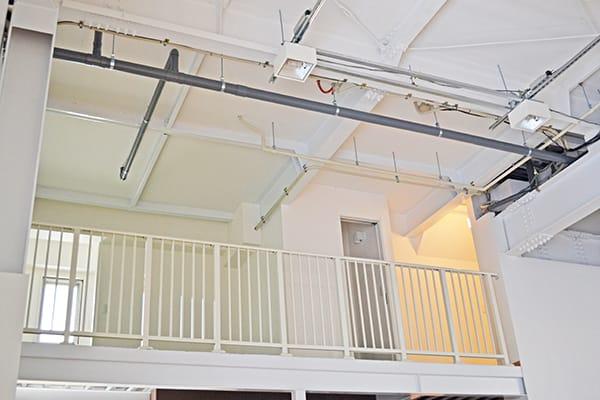 中2階・観覧スペース