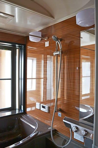 浴室施工例の写真