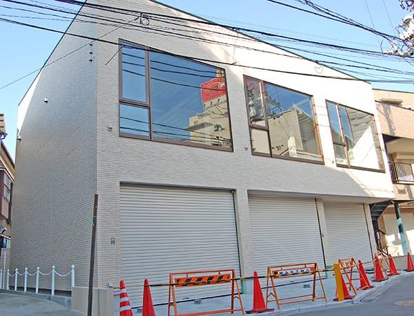 港南区I様・鉄骨造貸店舗新築の外観写真