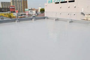 屋上防水工事後